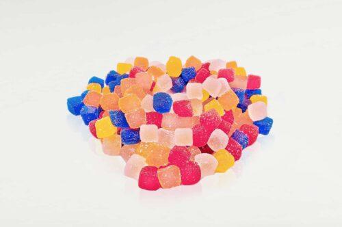 photo showing bulk gummies being manufactured